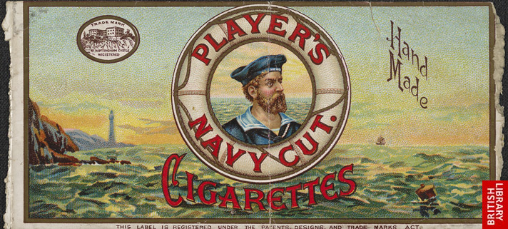 Advert for Player's Navy Cut, cigarettes